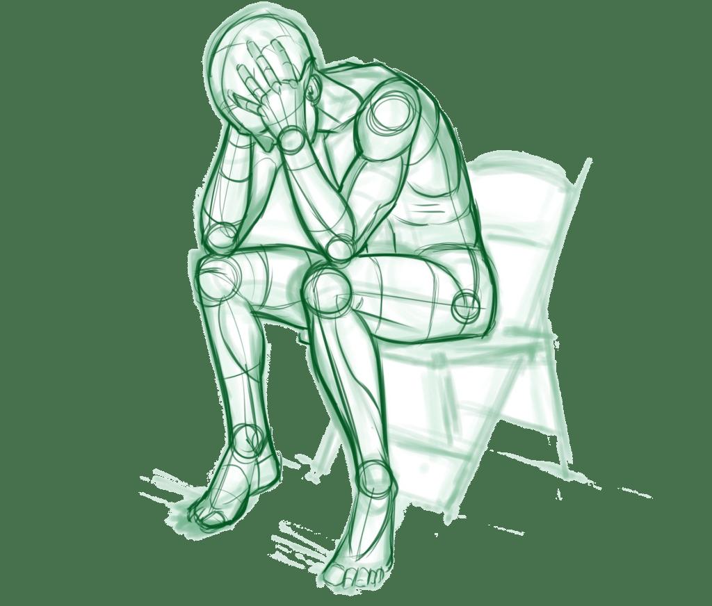 Schmerz Depression Überforderung