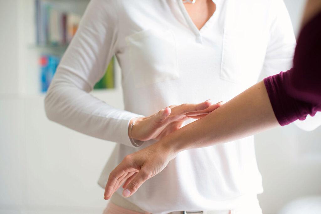 Kinesiologie Unterarm